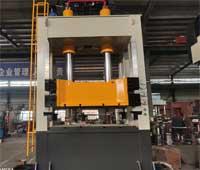 YW34-160T带液压垫框架式液压冲床